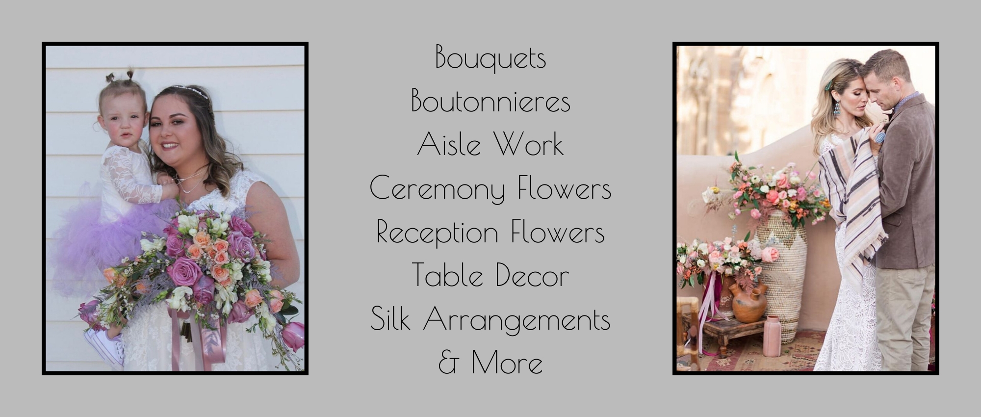 wedding flower services